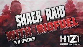 H1Z1 // Shack Raid: Biofuel vs Metal Door