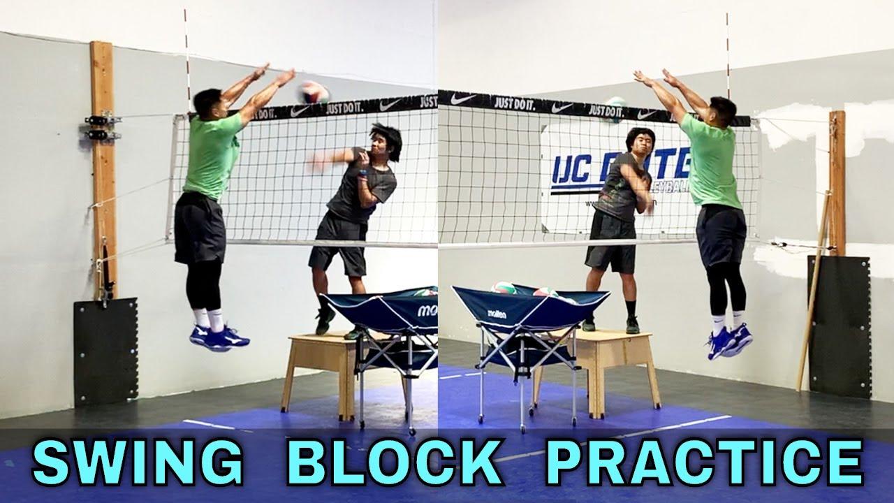 SWING BLOCKING TRAINING   Volleyball Practice (9-22-20)