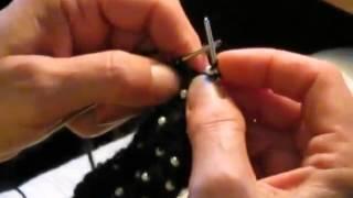 Школа вязания: как вязать с бисером и спицами, урок 1