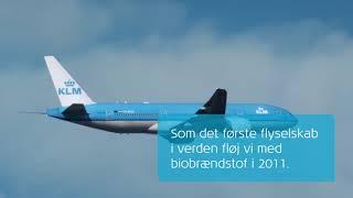 KLM: At flyve med biobrændstof – er det bæredygtigt?