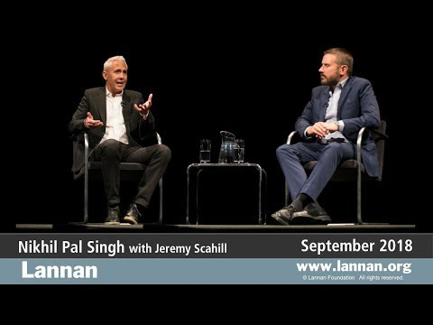 Nikhil Pal Singh, Conversation, 26 September 2018