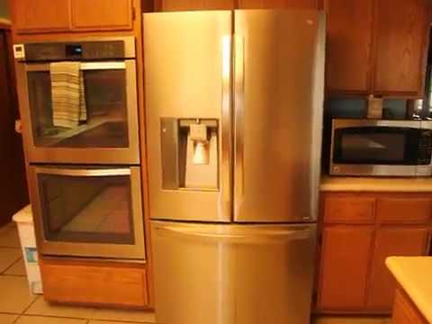 LG 24 Cu. Ft. Counter Depth 3 Door French Door Refrigerator Review