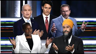BEST AND WORST MOMENTS FROM THE ELECTION! Trudeau! O'Toole! Singh! Paul! Bernier! Blanchet!