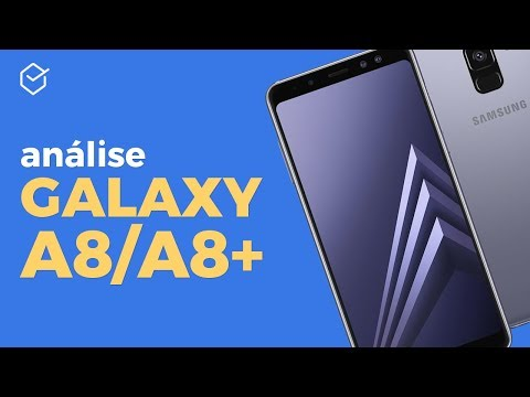 Galaxy A8 e A8+ | Review / Análise Completa!
