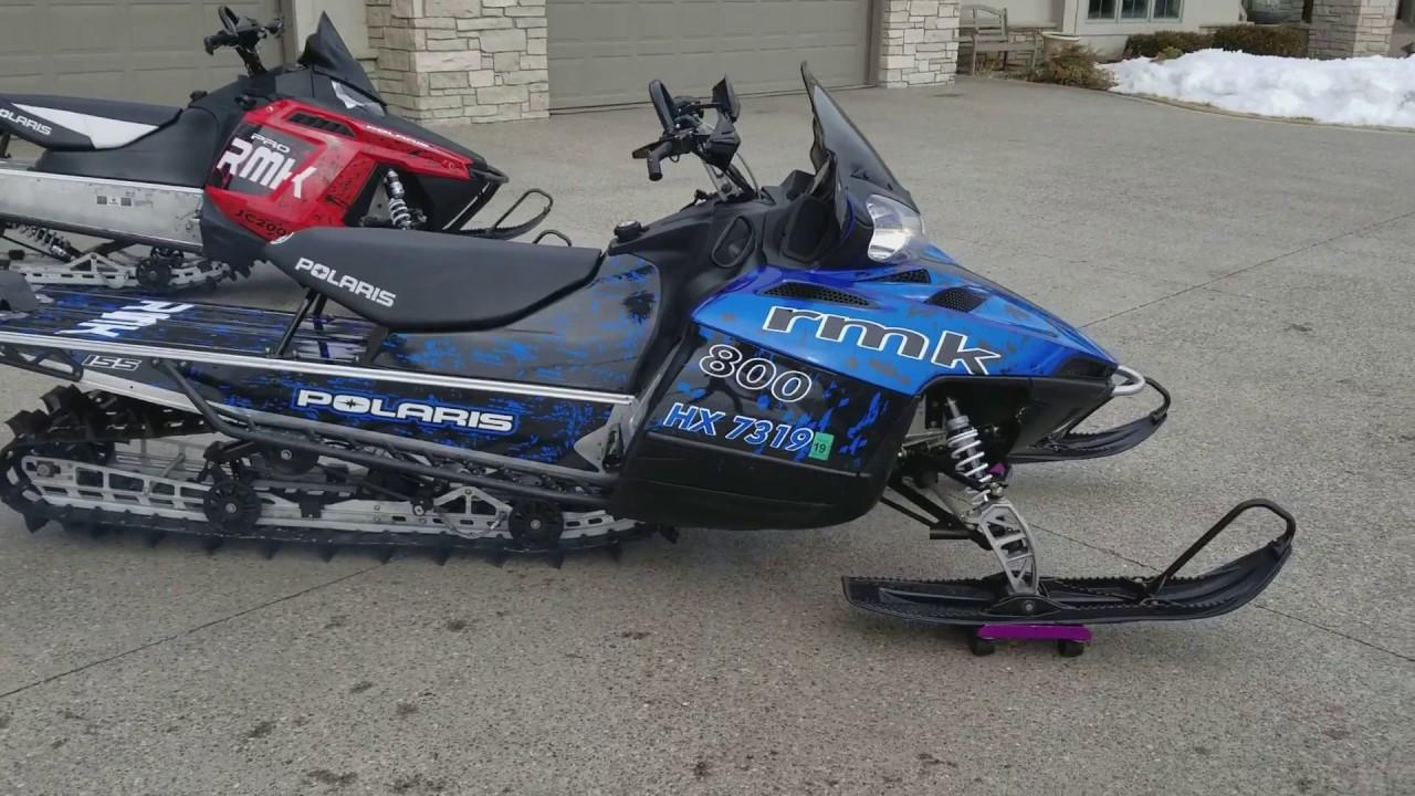 2010 Polaris RMK 800cc 155