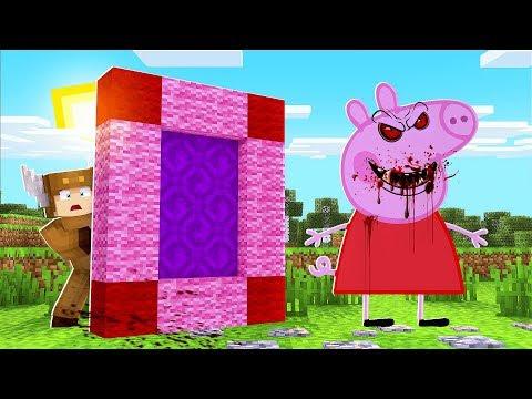 Minecraft Daycare - FOUND EVIL PEPPA PIG IN MINECRAFT! W/ MooseCraft (Minecraft Kids Roleplay)