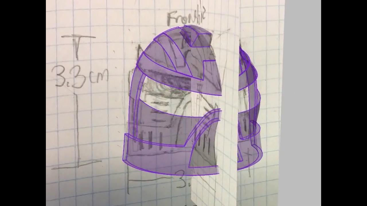 work in progress custom lego bionicle mask for 3d printing youtube