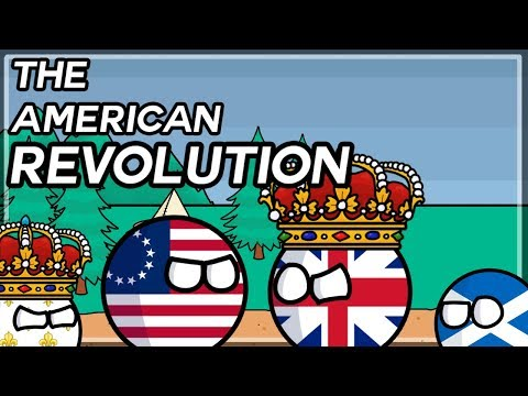How America Became Independent! | The American Revolution In Country Balls