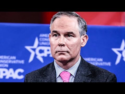Trump's Buddy Scott Pruitt The Target Of AT LEAST 10 Different Investigations