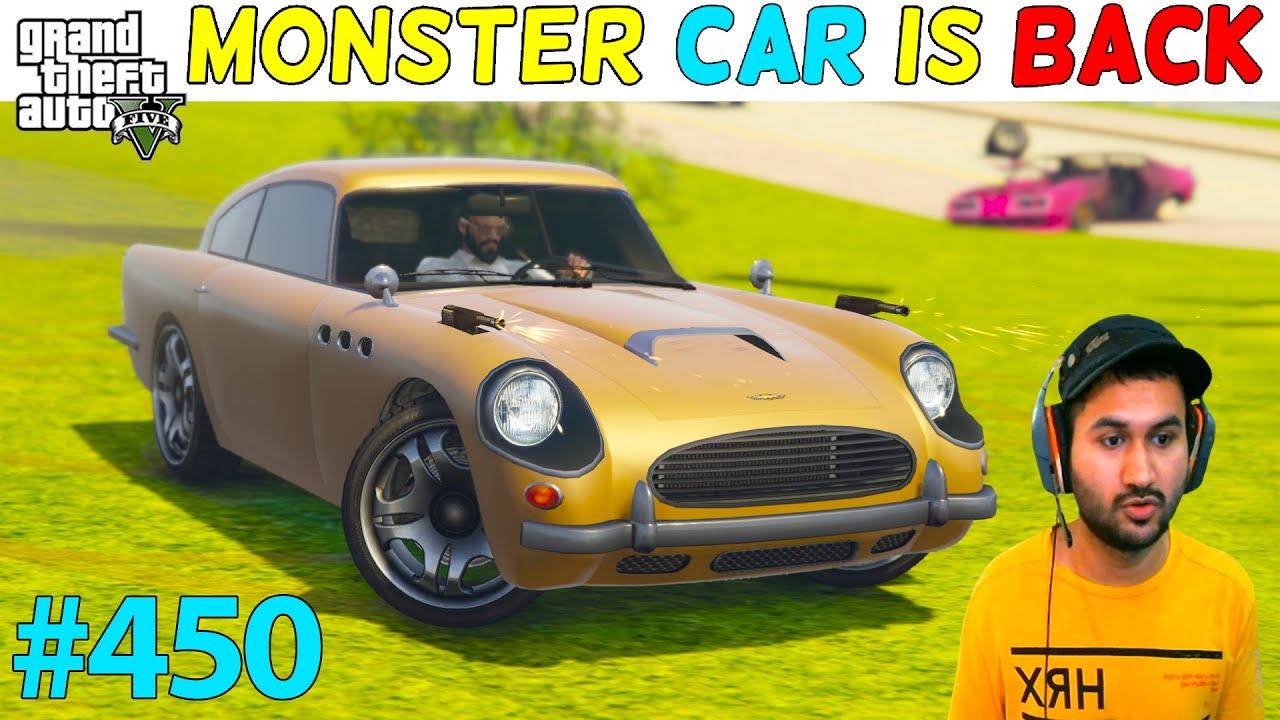 MONSTER CAR OF TREVOR IS BACK FOR WAR GTA 5 | GTA5 GAMEPLAY #450