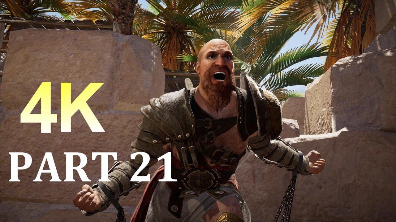 ASSASSIN'S CREED ORIGINS Walkthrough Gameplay 4K Part 21- (AC Origins)