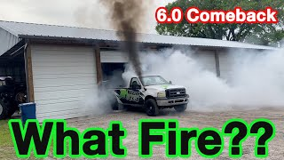 Is The Burnout Truck Salvageable After The Fire???