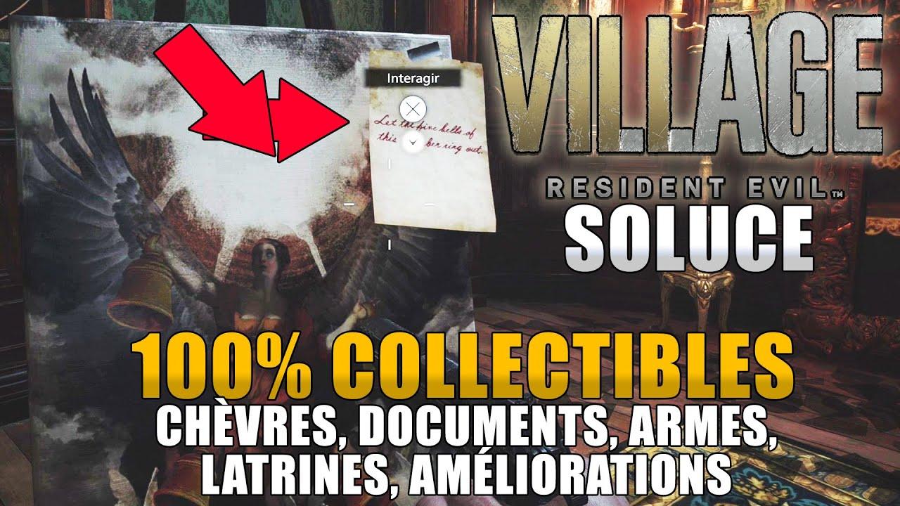 Download RESIDENT EVIL VILLAGE : 100% COLLECTIBLES : (Chèvres, Documents, Latrines, Armes,..) SOLUCE COMPLÈTE