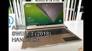 Acer Swift 3 (2018) im Ersteindruck thumbnail