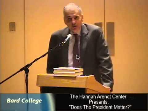 "Ralph Nader: ""Does the President Matter?"""