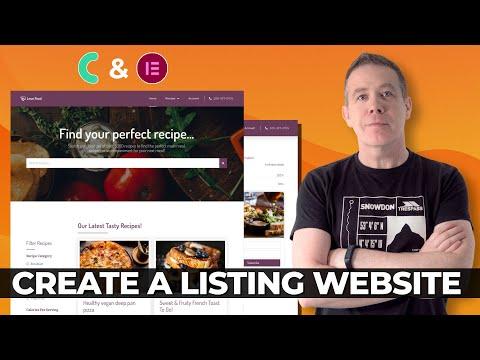 Download Create a Listing Website WordPress & JetEngine