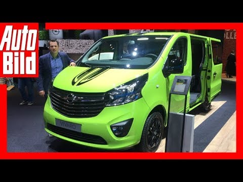 Opel Vivaro (IAA 2017) Review/Details/Erklärung