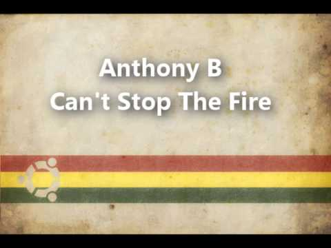 Anthony B - Can't Stop The Fire (www.facebook.com/ReggaeFyah)