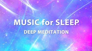 Music for sleep. Deep meditation. Falling asleep