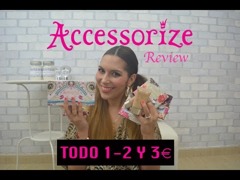 REVIEW ACCESSORIZE!!!! Lo + Low Cost | PRIMOR