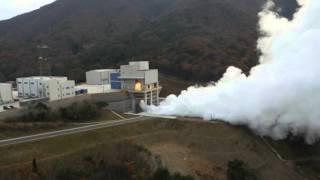 [KARI] 한국형발사체 7톤급 엔진(3단 엔진) 100초 연소시험(드론캠 추가) 이미지