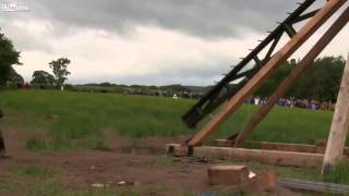 The Trebuchet   Launching A Car, Piano And Incendiary Drum