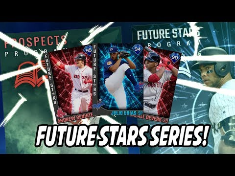 NEW 95 ANDREW BENINTENDI! NEW FUTURE STARS SERIES!  - MLB The Show 17 Diamond Dynasty