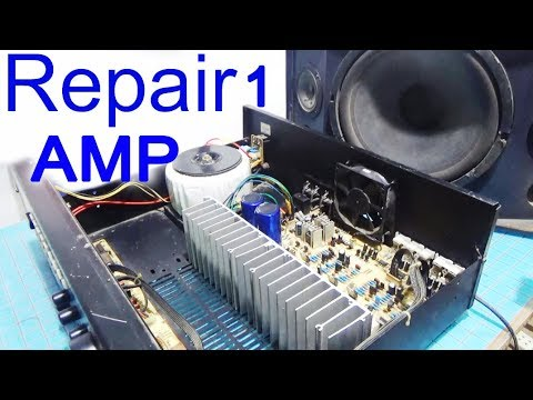 how-to-repair-amplifier-no-sound-part1