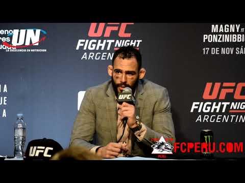 Post UFC Argentina: Santiago Ponzinnibio responde a Jordan Huerta