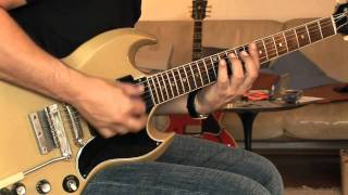 1964 Gibson SG Special, refinished gold sparkle Part1