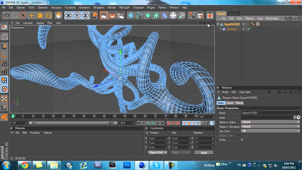 Cinema 4d Character Design Tutorials : Cinema d abstract tutorial easy youtube