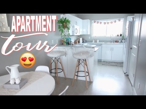 Apartment Tour 2018 Aka Where All Of My Plants Live