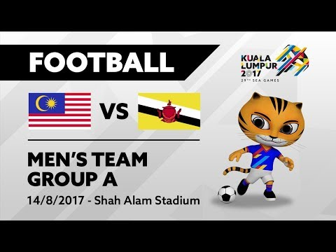 KL2017 29th SEA Games | Men's Football - MAS 🇲🇾 vs BRU 🇧🇳