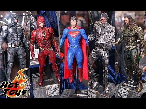 sdcc2017 revealsthoughts hot toys justice league update
