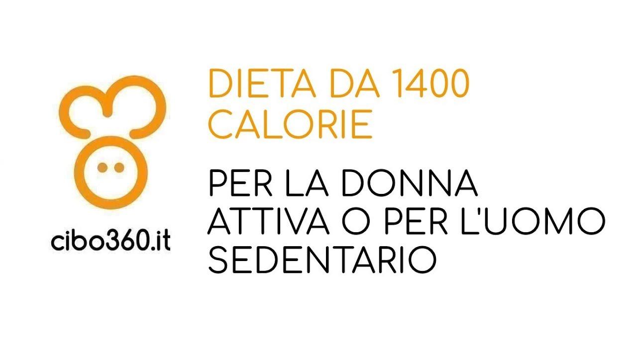 dieta per uomo da 1600 calorie