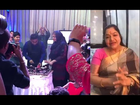A.R.Rahman Birthday Cakes Cutting Video And  Wishes Video  2017