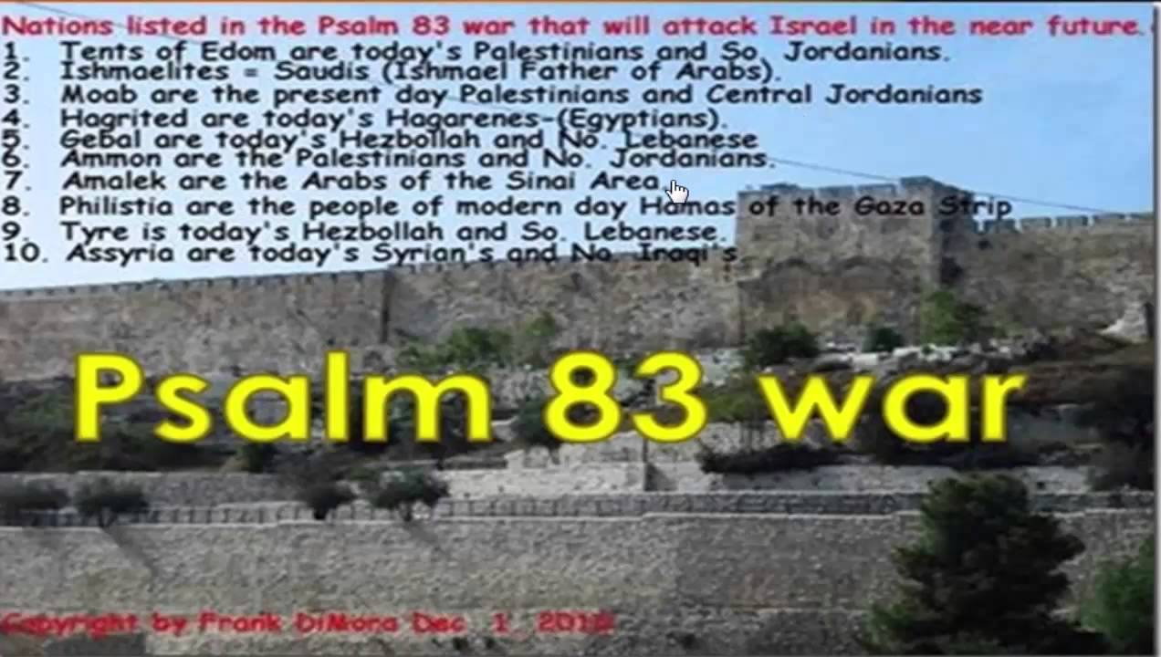 Image result for psalm 83 war frank dimora