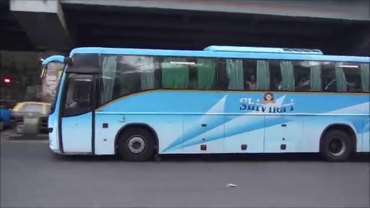Volvo Buses Of Maharashtra Tourism Semi Sleeper Regular Multi