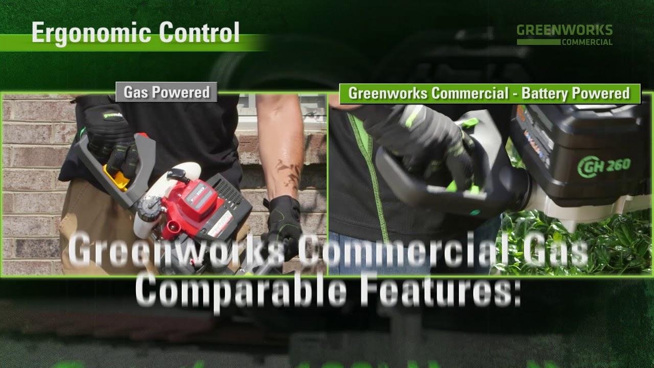 Gas Comparison - Hedge Trimmer