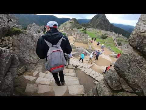 VOLANDO EN DRONE 4K ,  PERU MARAVILLOSO -  WALKING MACHU PICCHU