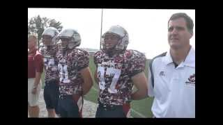 Maritime Football Military Appreciation Day 2013 - Camo Jersey Reveal