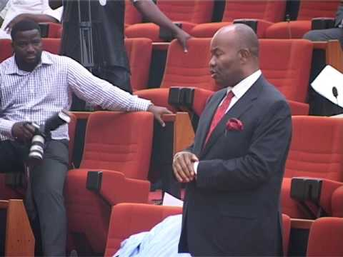 8th June 2016,  Senator  Chief Godswill Akpabio  Akwa Ibom South  contributes 0n  the Debate ;   A B