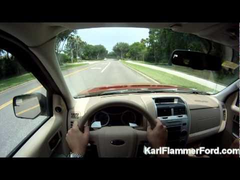 Drive One 4 UR School: Ford Escape test drive (1st person POV)