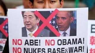 أوباما يزور هيروشيما التي قصفتها بلاده بقنبلة نووية في عام 1945