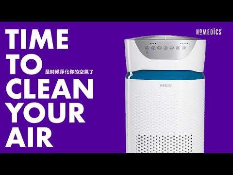 美國 HOMEDICS 家醫 UV離子殺菌空氣清淨機 - 是時候淨化你的空氣了