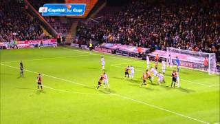 Bradford v Leeds - League Cup Highlights 2014/2015(Description., 2014-08-28T11:38:47.000Z)