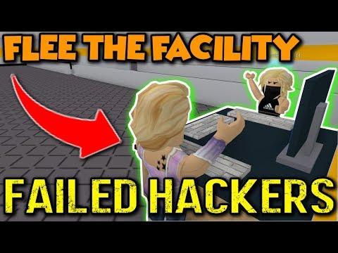 XBOX | ROBLOX | FLEE THE FACILITY #3 // FAILED HACKERS!?!