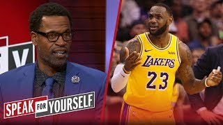 Stephen Jackson: LeBron must take 'more responsibility' for Lakers issues   NBA   SPEAK FOR YOURSELF