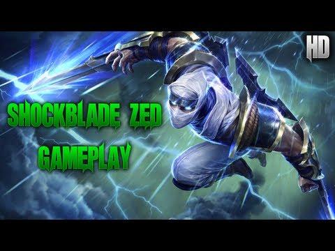 Shockblade Zed Skin