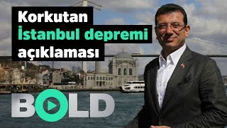 Ekrem İmamoğlu'dan korkutan 'İstanbul depremi' açıklaması   İBB Meclis'i acil eyleme geçiyor  